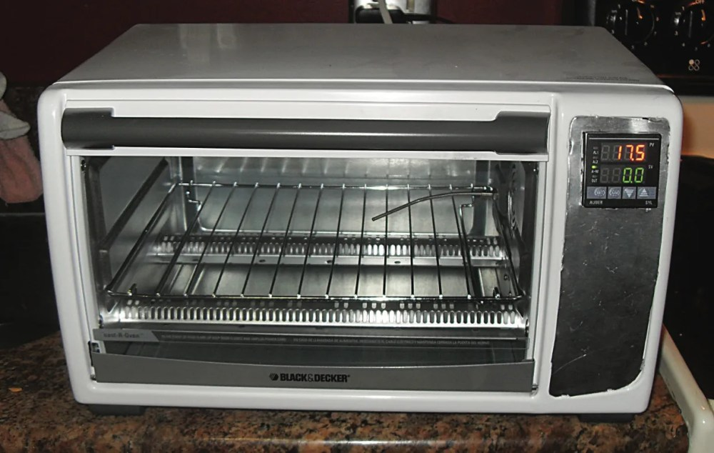 medium resolution of photo of a toaster oven turned into a reflow oven