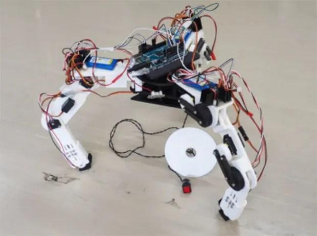 Osaka University tripod robot