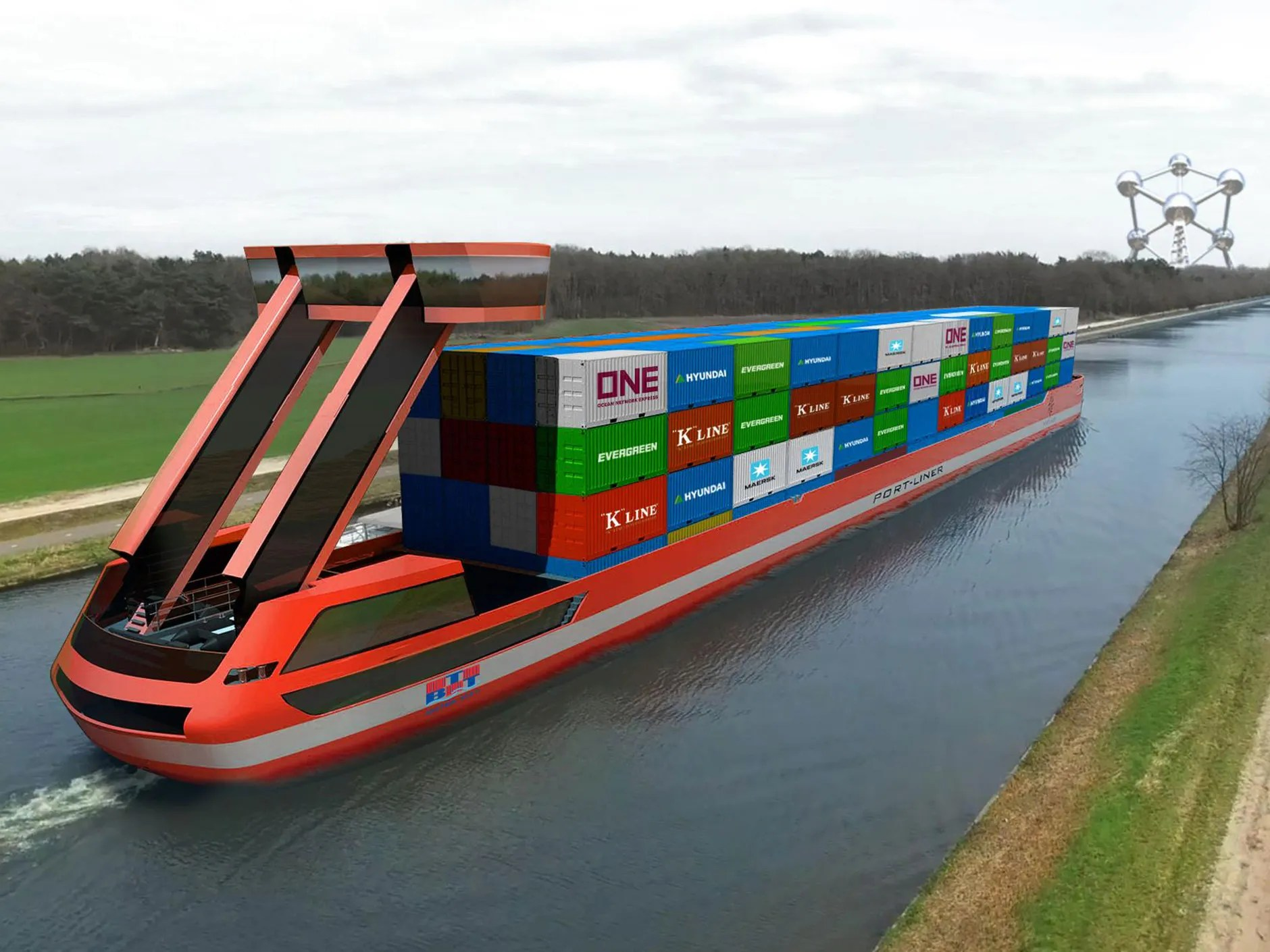 hight resolution of port liner s all electric tesla ship should begin sailing this year