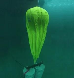 Brian Cheung actual underwater test