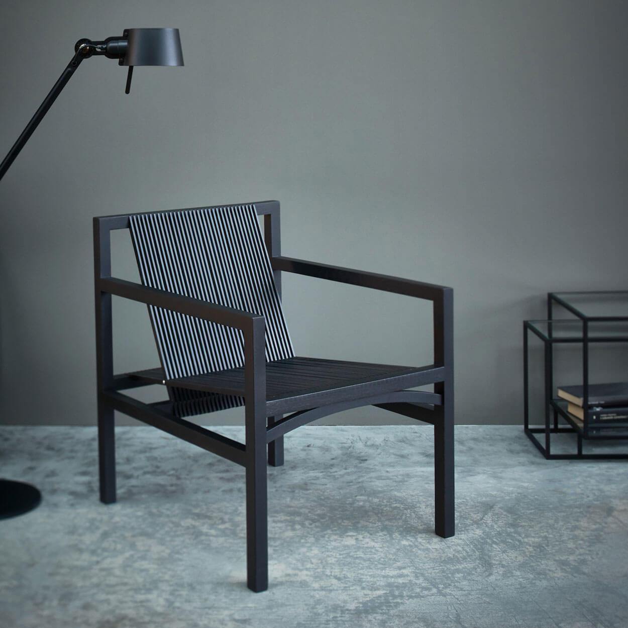 Zwarte Design Fauteuil.Design Fauteuil Zwart