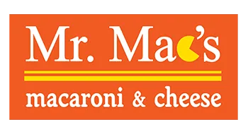 Mr. Mac's macaroni & cheese logo
