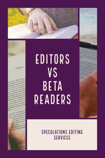 Editors versus Beta Readers