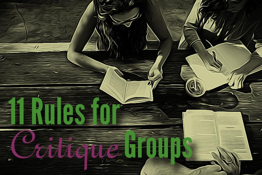 critique group rules, critique group
