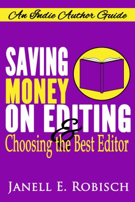 Saving Money on Editing & The Launch of a New Book Series