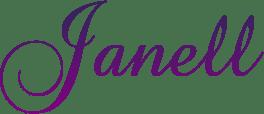 Janell's signature