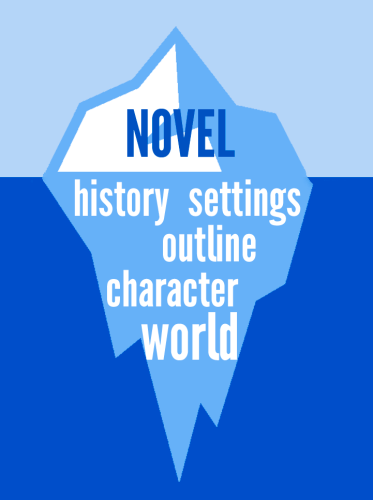 story is like an iceberg