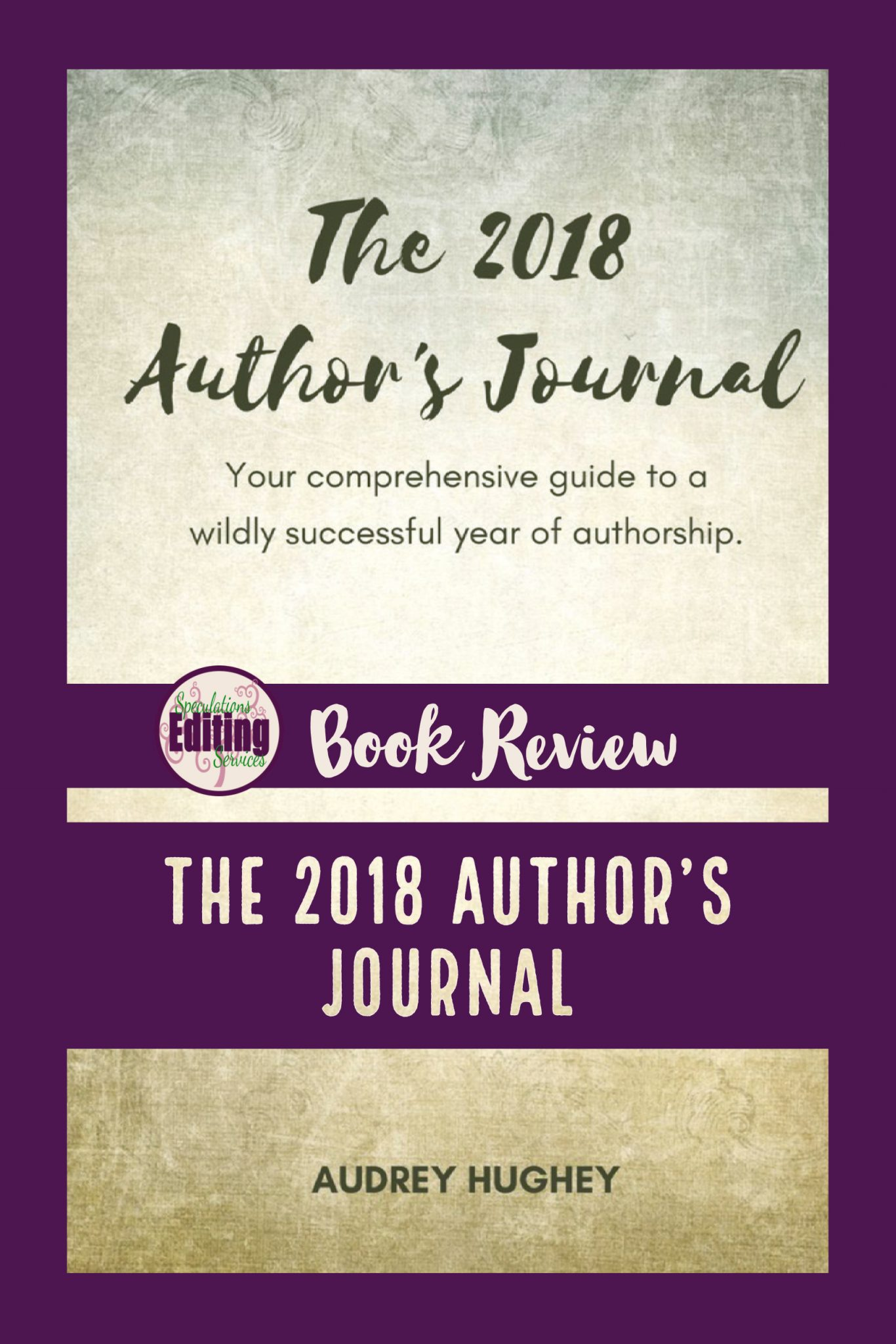 book review, the 2018 author's journal
