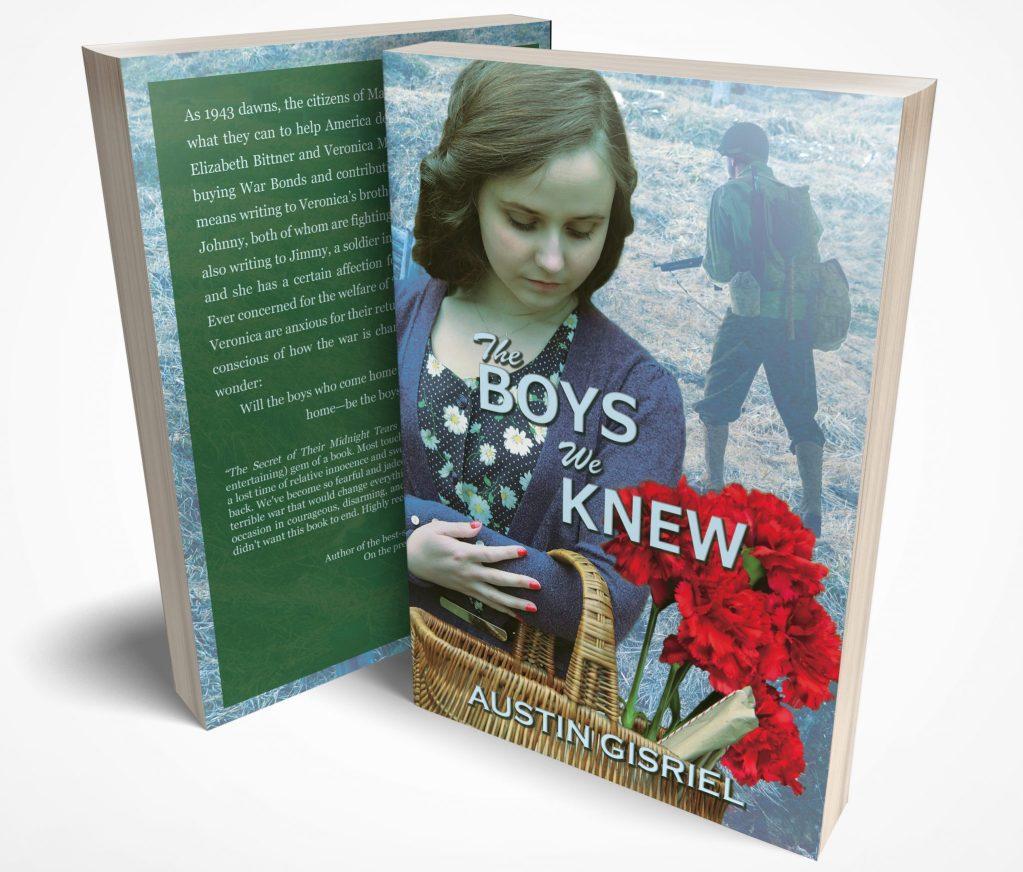 The Boys We Knew, Austin Gisriel, Janell Robisch, Cover Design