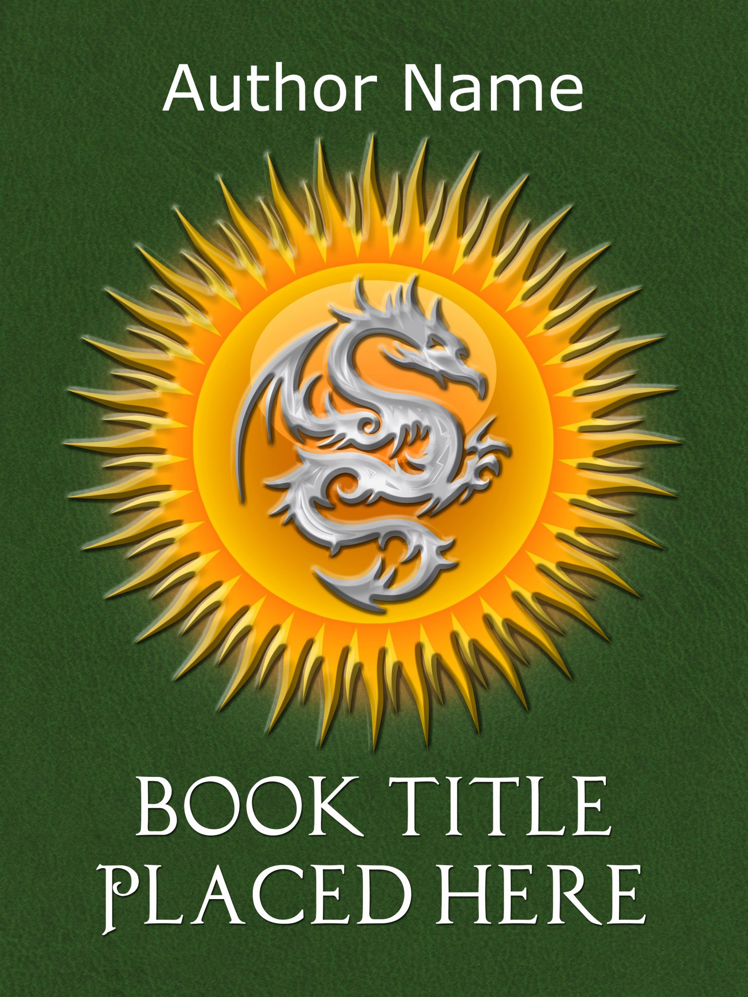 Fantasy Dragon Premade Book Cover