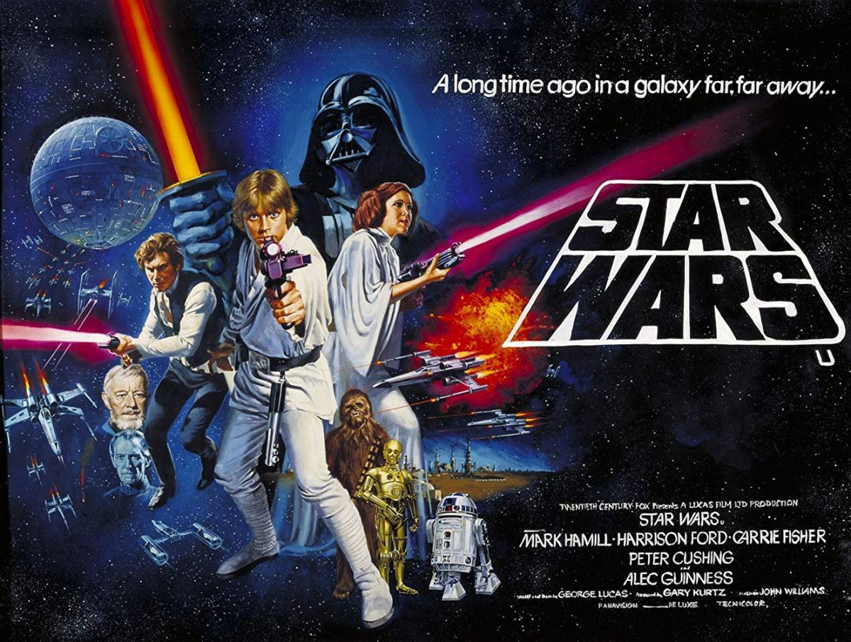 in a galaxy far  far away  star wars episode iv  a new