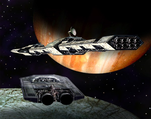 Spaceart - Shuttle Arriving Science Fiction Art And