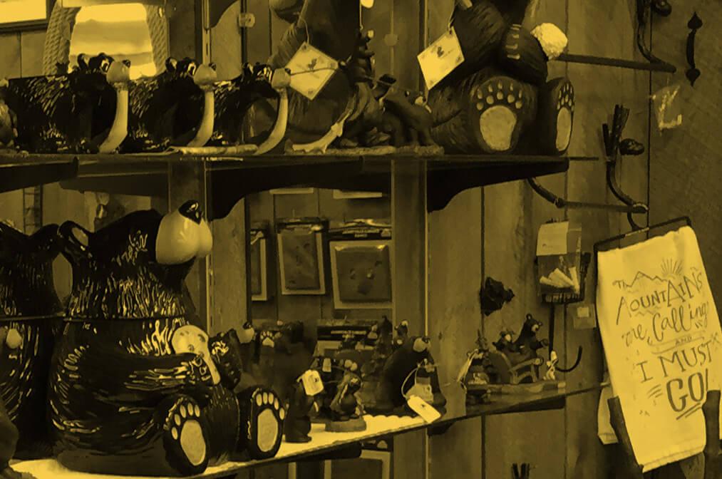 Speculator Department Store souvenir display