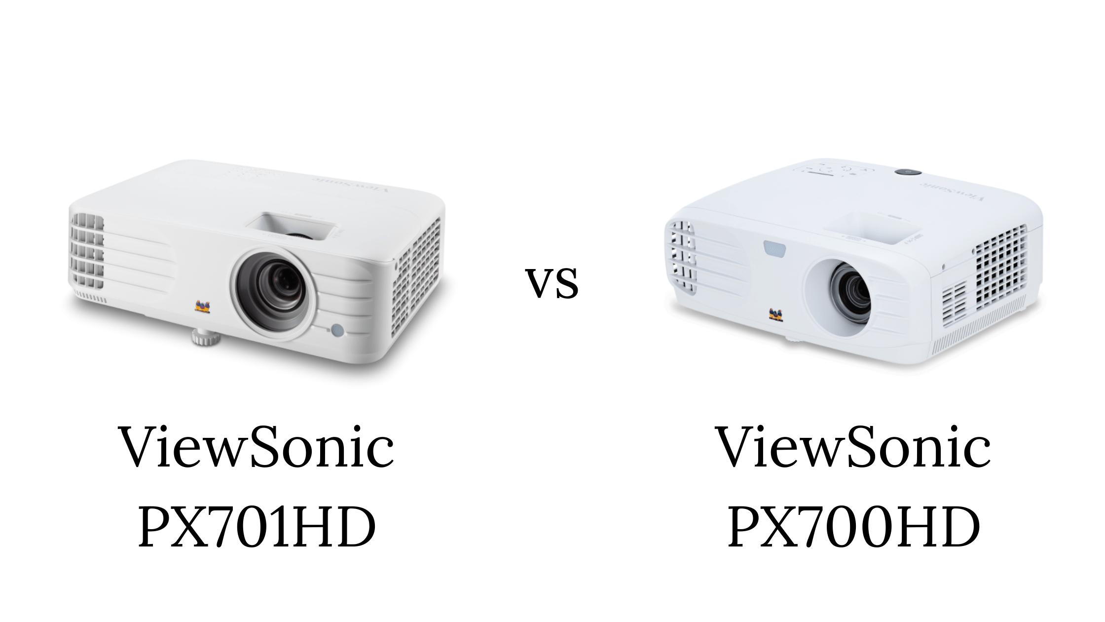 ViewSonic PX701HD vs PX700HD