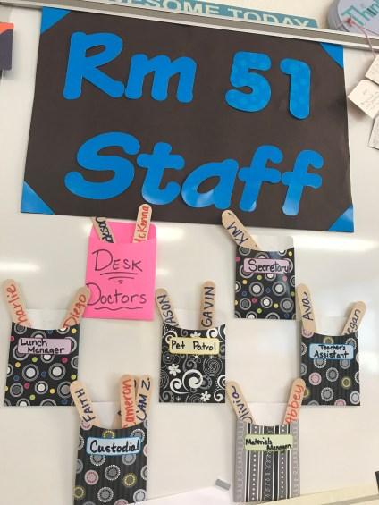 Room 51 staff