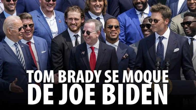 TOM BRADY SE MOQUE DE JOE BIDEN – LES MÉDIAS DISJONCTENT