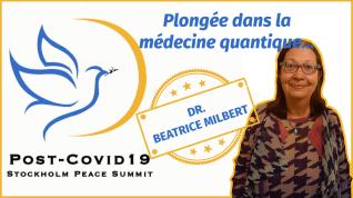 Intervention de Béatrice Milbert au sommet pour la paix de Stockholm