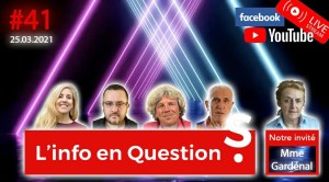 L'info en QuestionS #41 avec Martine Gardenal – 25.03.21