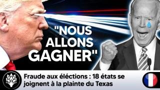 Fraude aux élections : 18 états se joignent à la plainte du Texas