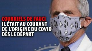 FAUCI SAVAIT QUE LE COVID ÉTAIT UNE FABRICATION HUMAINE