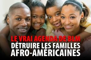 LE VRAI AGENDA DE BLACK LIVES MATTER – DÉTRUITE LES FAMILLES AFRO-AMÉRICAINES