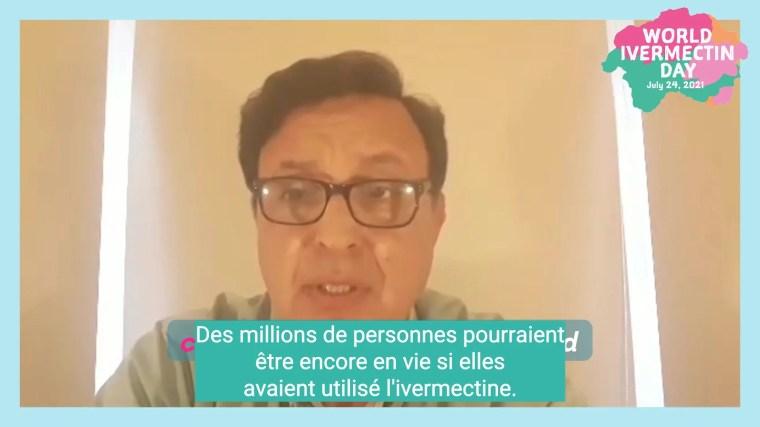 Dr Carvallo : World Ivermectin Day [VOSTFR]