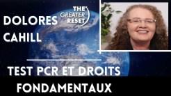 Dolores Cahill: Test PCR et droits fondamentaux