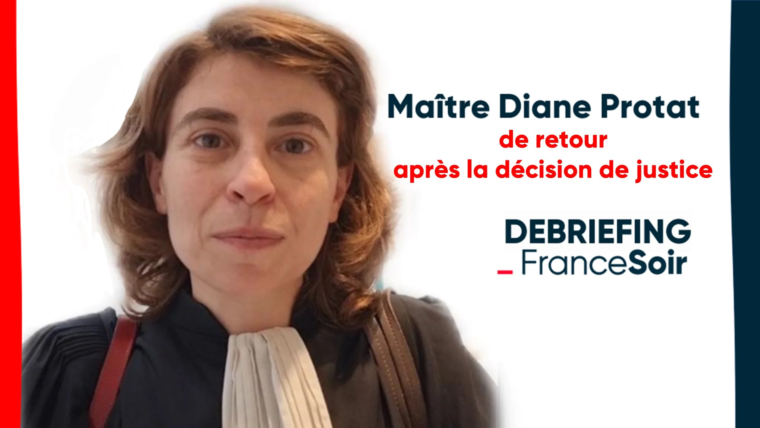 « Il faudra contester devant tous les tribunaux possibles » Maître Diane Protat après la décision du tribunal