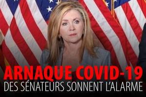 ARNAQUE COVID-19 – DES SÉNATEURS SONNENT L'ALARME