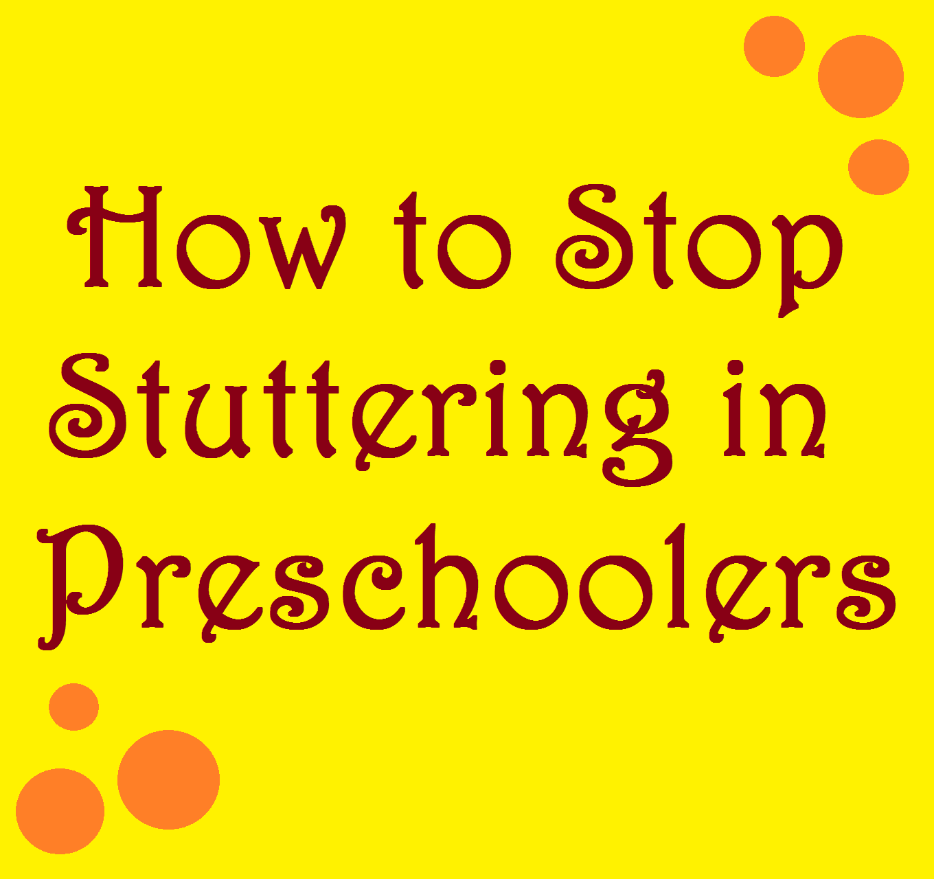 How Can You Stop Stuttering