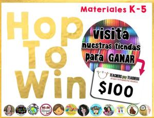 Hop to Win! $100 and $20 TpT credit giveaway!