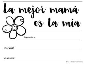 Mother's Day Exclusive Free Resource in English and Spanish