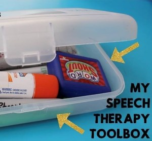 My Speech Therapy Toolbox