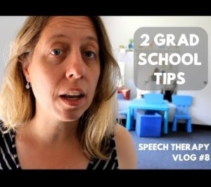 2 Speech Therapy Grad School Tips to Help You Choose Where to Go!