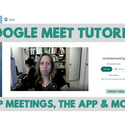 Google Meet Tutorial