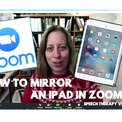 How to Mirror an iPad over Zoom