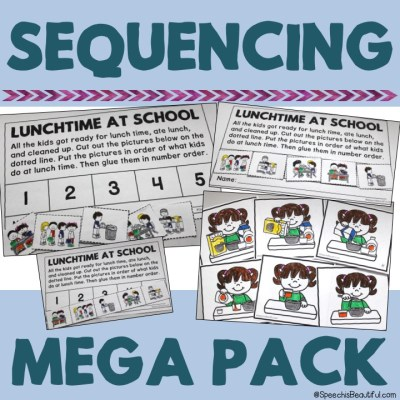 Using Sequences in Speech Therapy