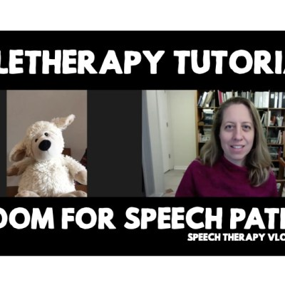 Teletherapy Tutorial: Zoom for Speech Paths During the Shutdown