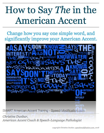 American Th : american, American, English, Pronunciation