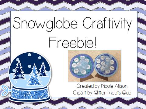 Easy Snowglobe Craftivity