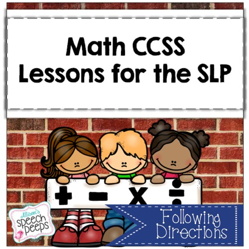 Math Following Directions