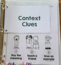 Evidence-Based Interventions: Context Clues - Speech Peeps [ 1346 x 1184 Pixel ]