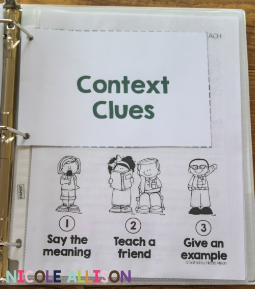 small resolution of Evidence-Based Interventions: Context Clues - Speech Peeps