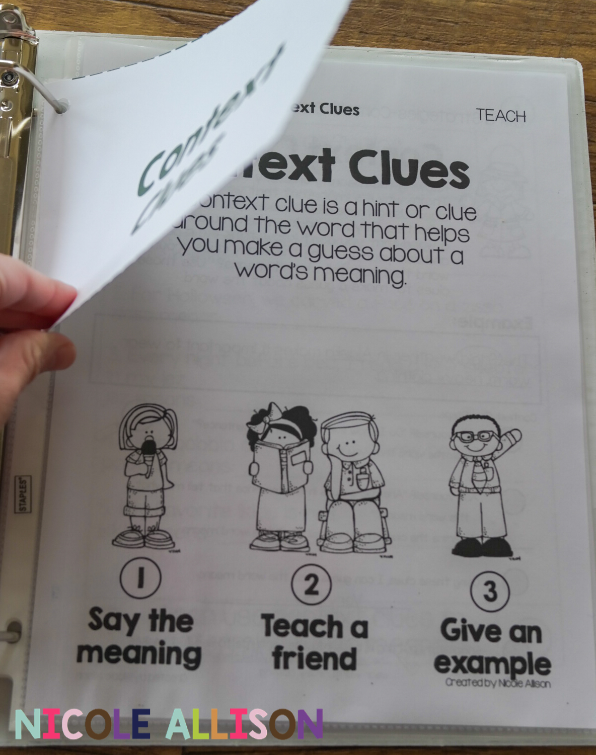 Evidence Based Interventions Context Clues