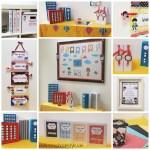 Superhero Theme Classroom Decor Speech Room Style
