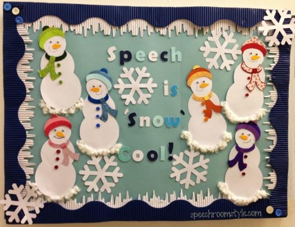 Bulletin Boards Speech Room Style