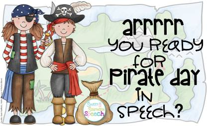 Talk Like A Pirate Day in Speech Therapy