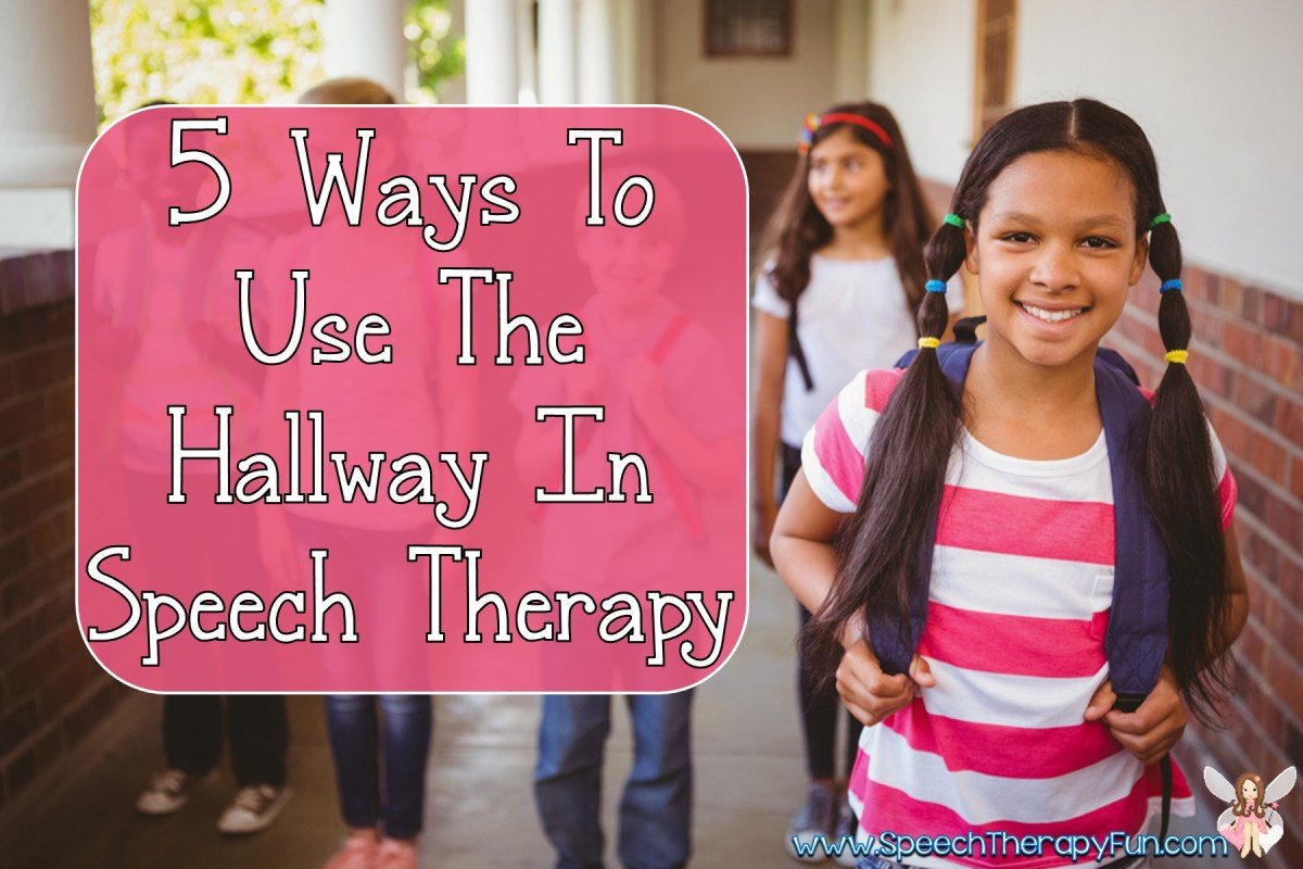 5 Ways to Use The Hallway in Speech Therapy