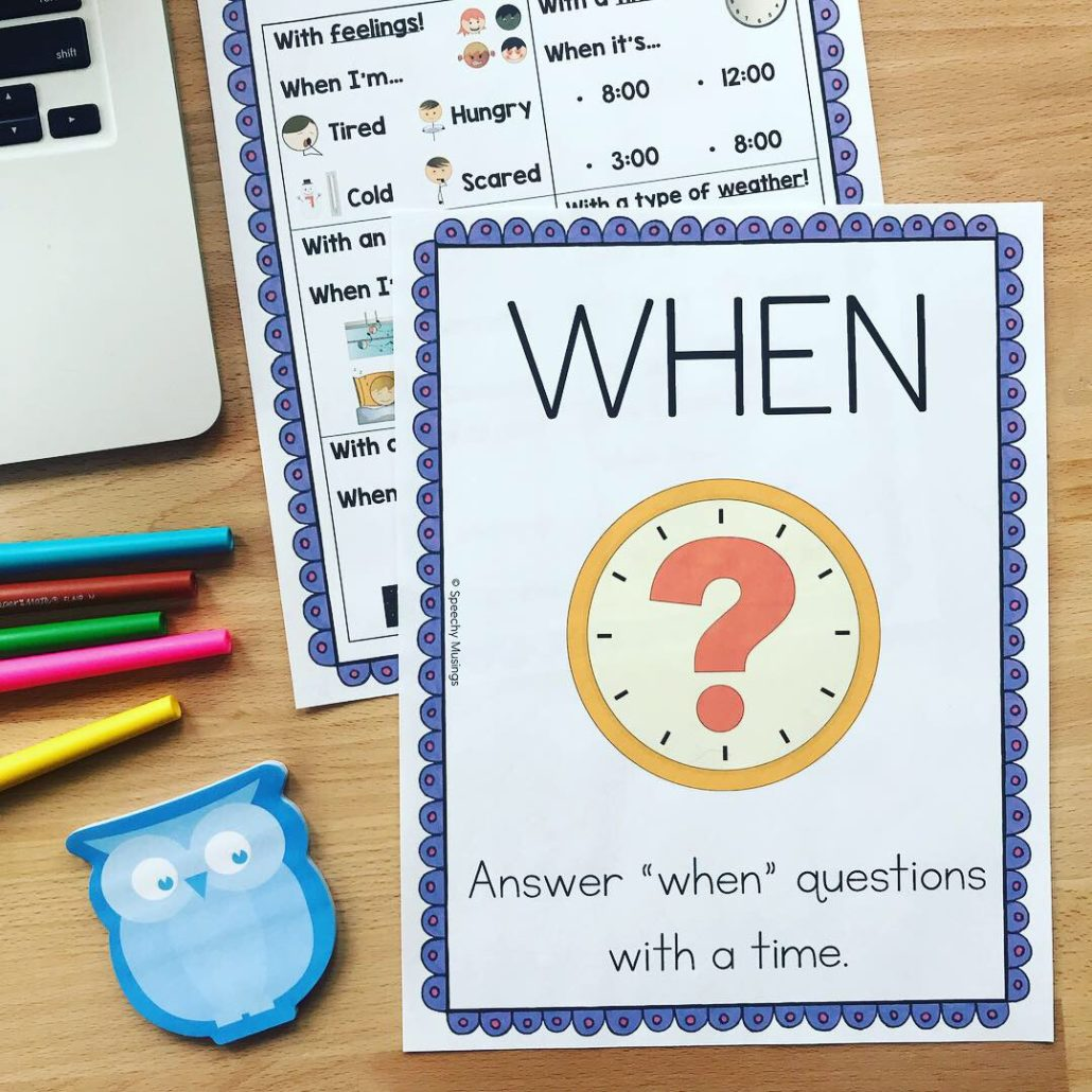 hight resolution of 5 Activities to Work on WH Questions in Speech Therapy   Speechy Musings