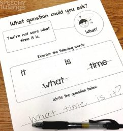 5 Activities to Work on WH Questions in Speech Therapy   Speechy Musings [ 1030 x 1030 Pixel ]